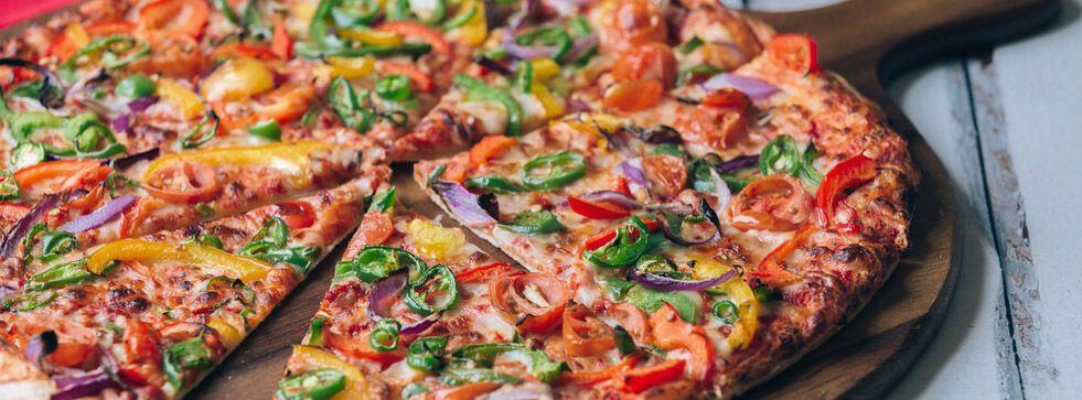 Піца на тісті без дріжджів