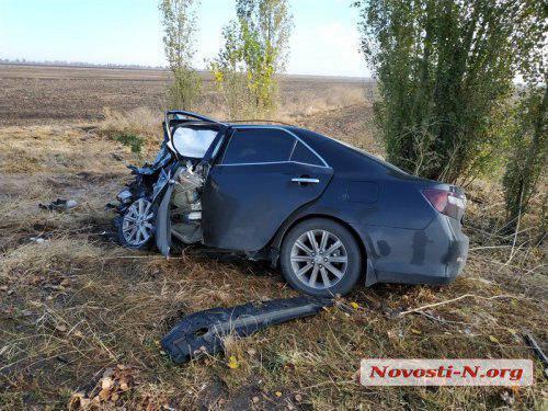 Під Миколаєвом розбилися керівники поліції