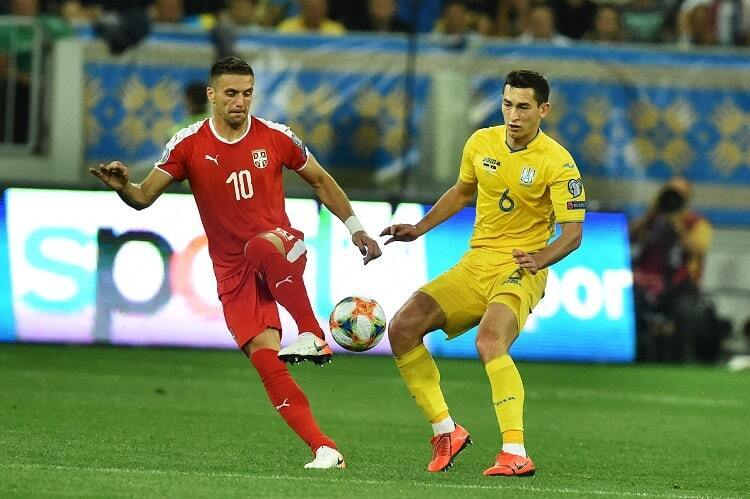 В домашнем матче Украина разгромила Сербию — 5:0