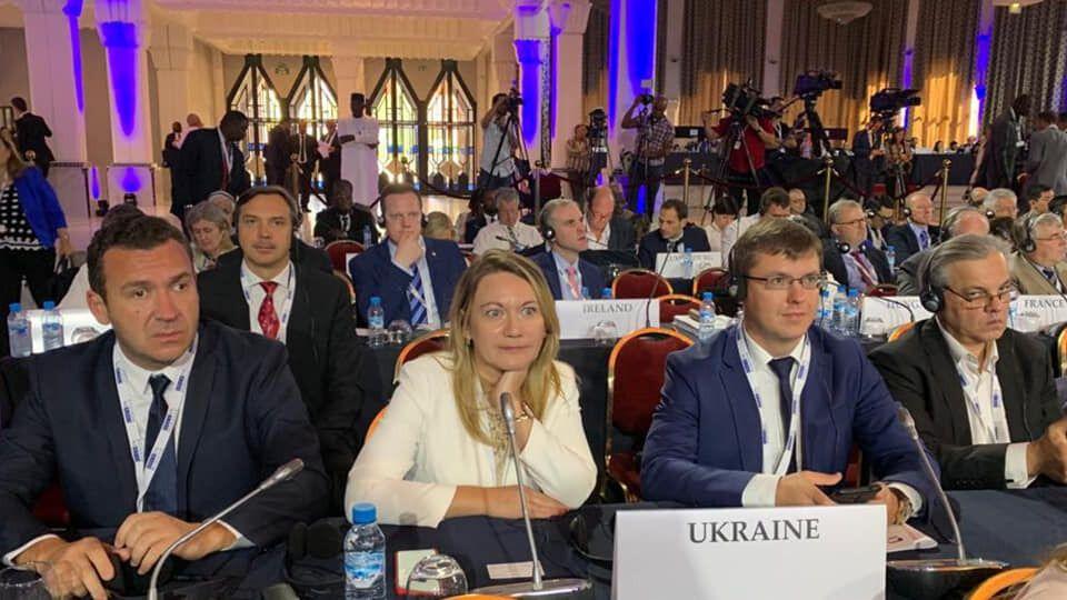 Делегация Верховной Рады на Ассамблеи ОБСЕ 4-6 октября