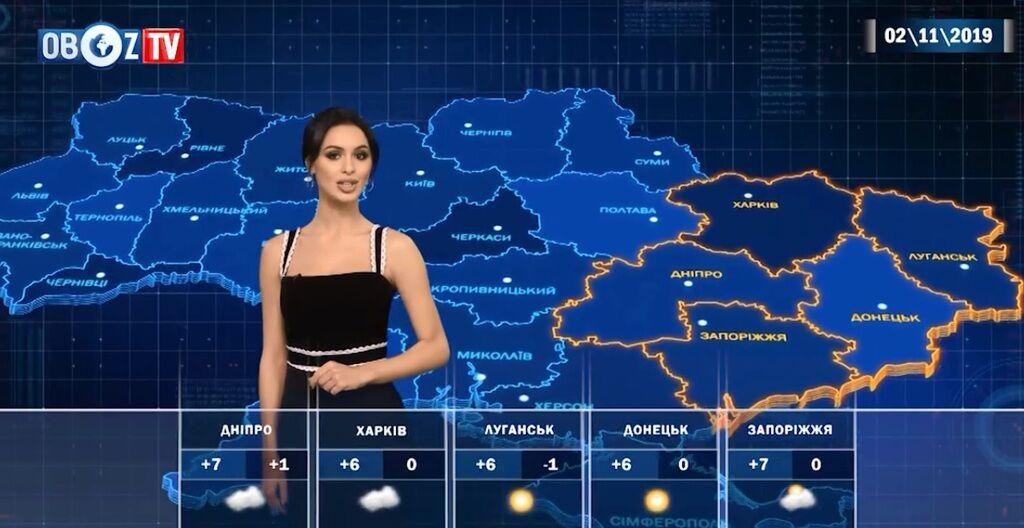 Облачно, местами осадки: прогноз на 2 ноября от ObozTV