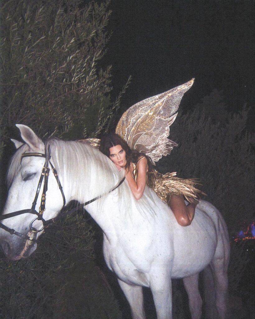 Кендалл Дженнер на коні