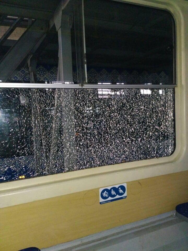 В Киеве стреляли в трамвай