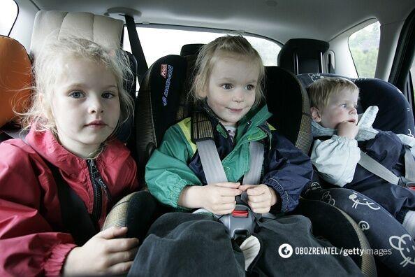 Дитячі автокрісла представлені в широкому асортименті