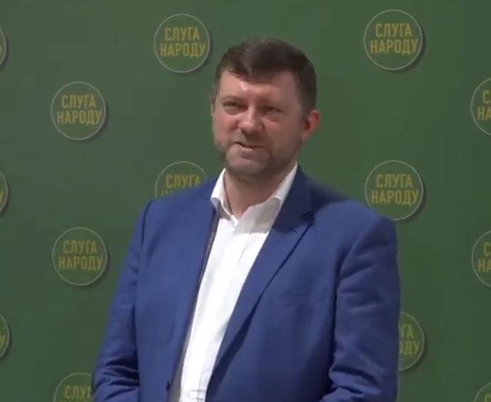 """Корниенко стал главой """"Слуги народа"""""""