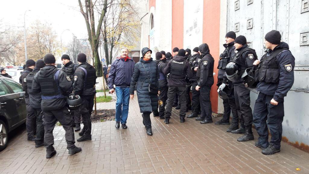 """Сторонники Филарета устроили """"бунт"""" в Киеве"""
