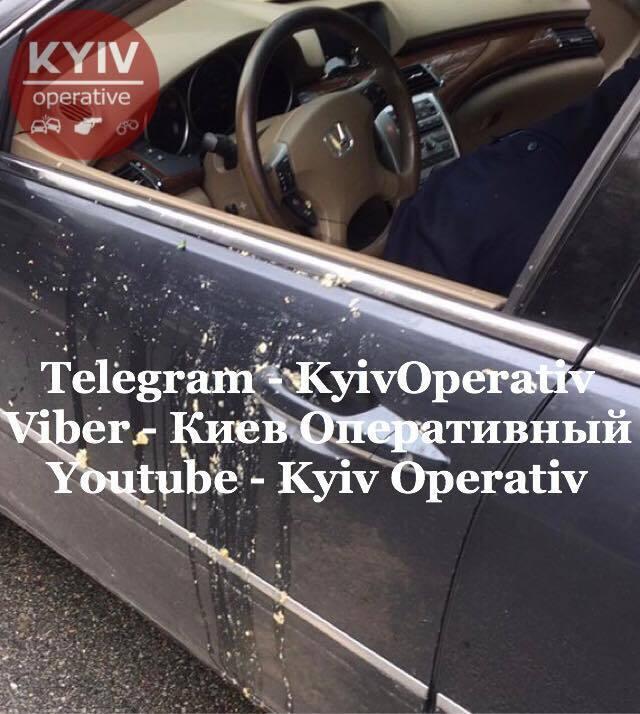"""В Киеве, возле станции метро """"Сырец"""", правоохранители якобы остановили пьяного дипломата за рулем авто Honda"""