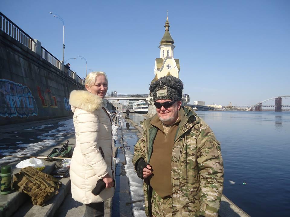Игорь и Оксана часто бывали на рыбалке