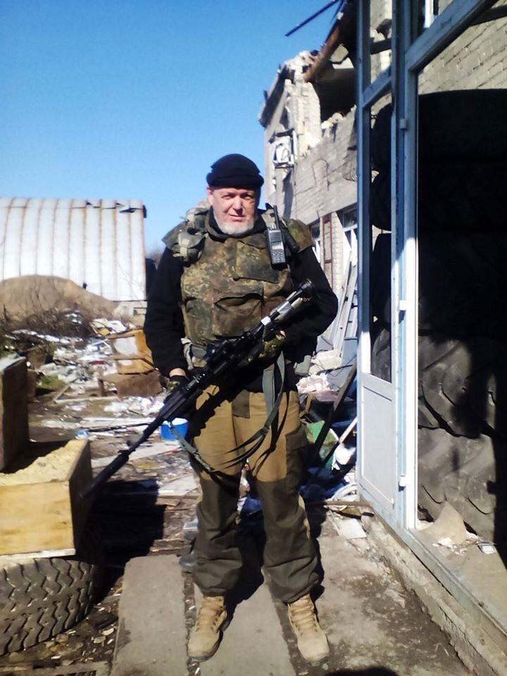 Игорь Панов участвовал в боях вместе с солдатами