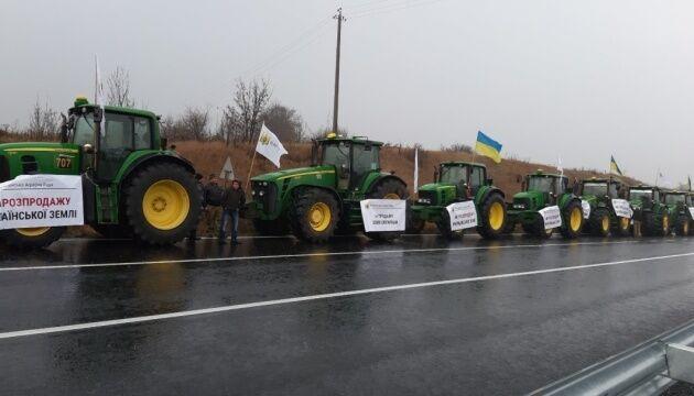 В Україні пройшли масштабні мітинги проти ринку землі