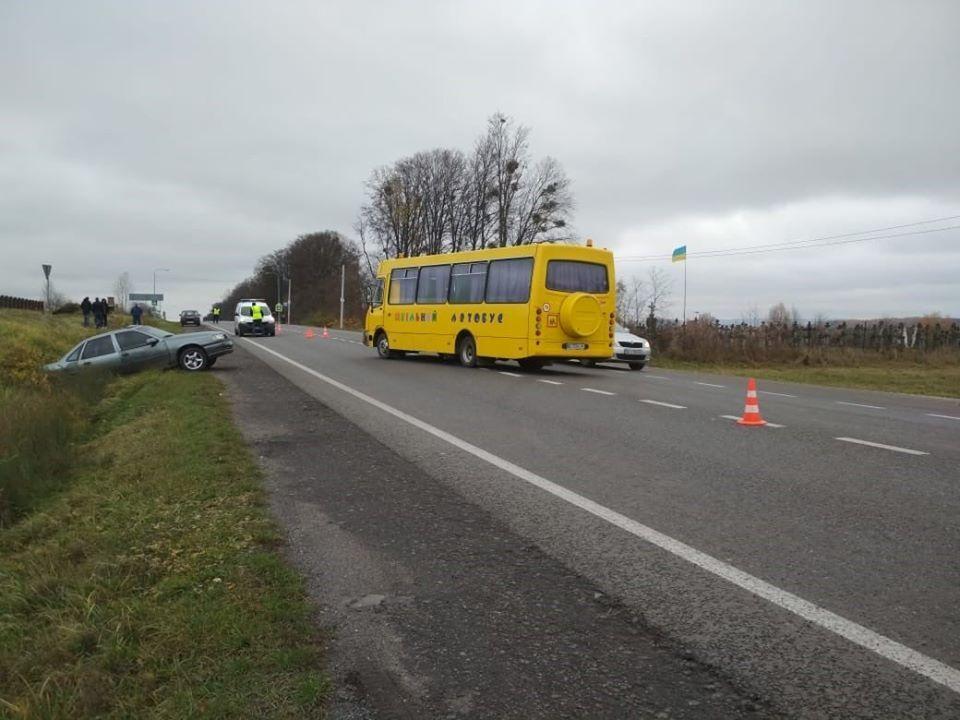 ДТП со школьным автобусом