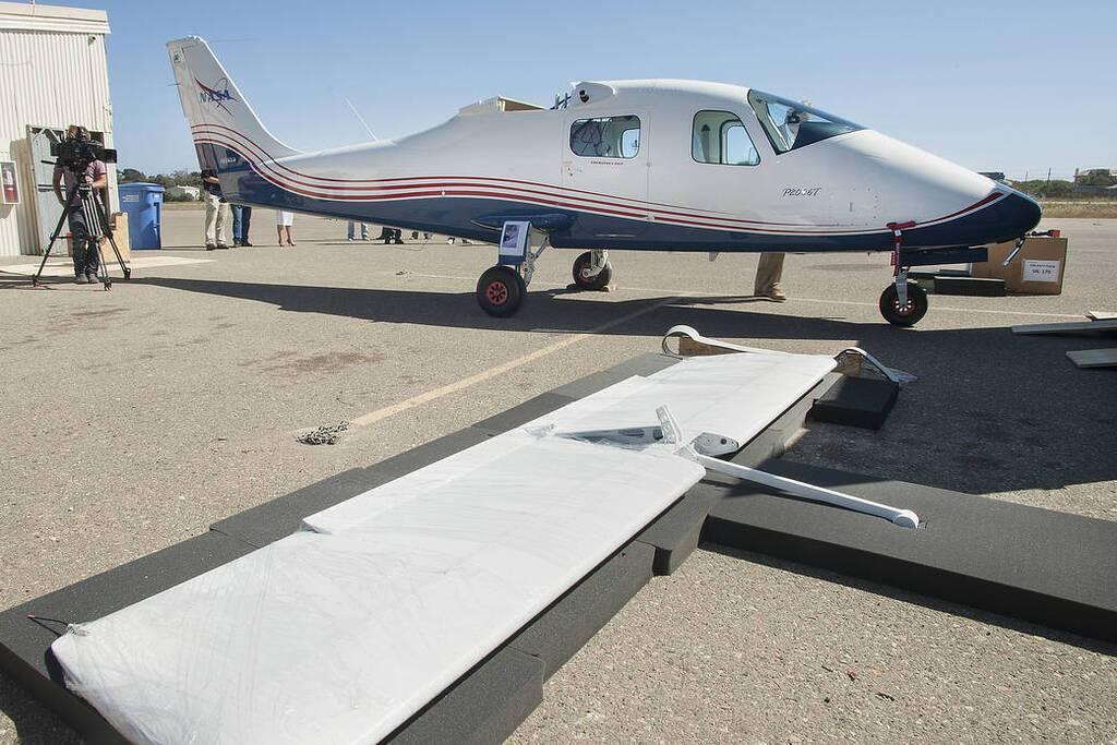 Фюзеляж електричного літака X-57 Maxwell