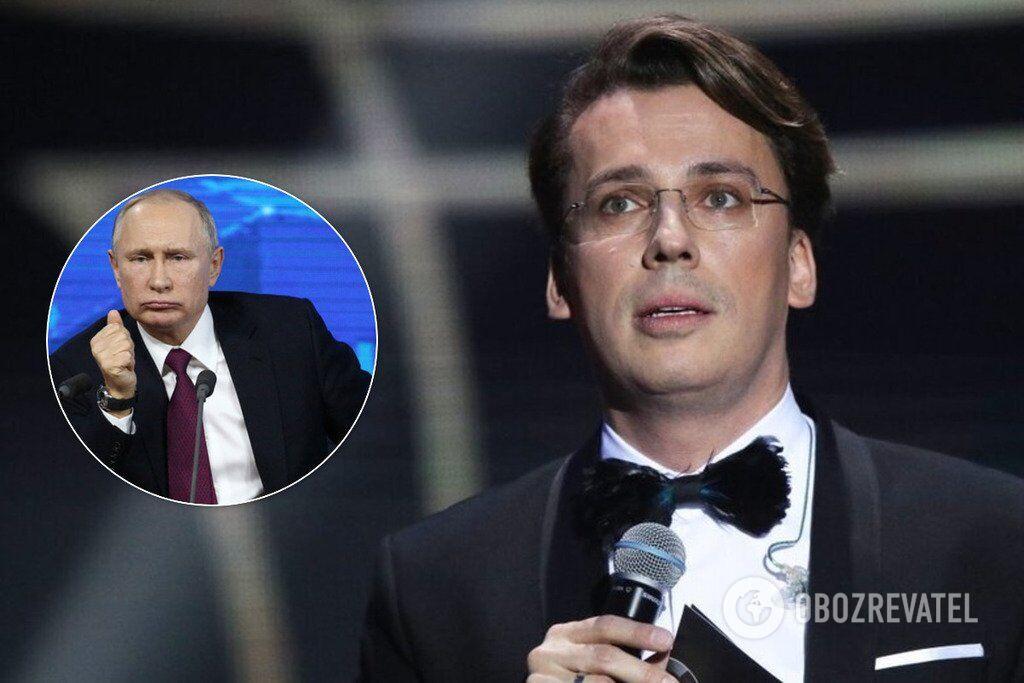У мережі з'явилася ще одна жорстка пародія Галкіна на Путіна