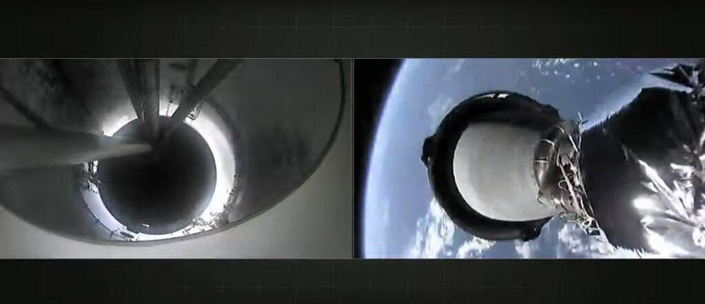 SpaceX запустила на орбиту Falcon 9