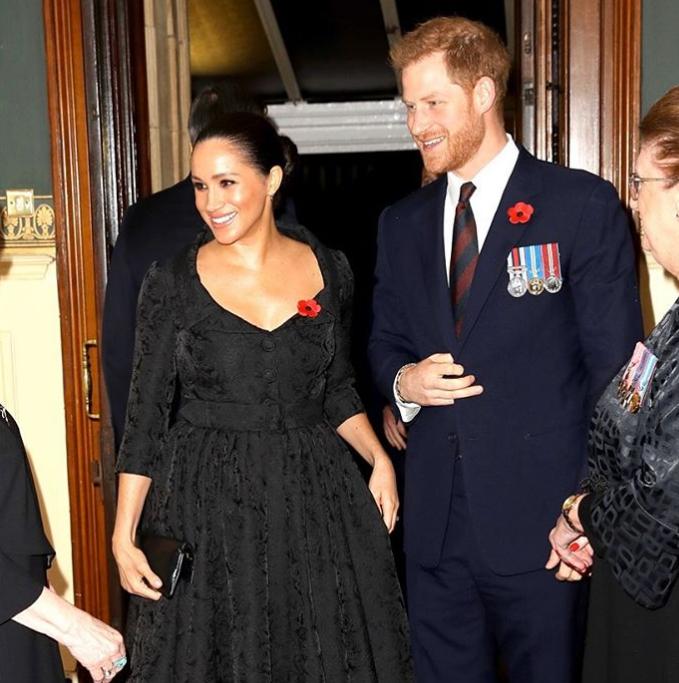 Меган Маркл и принц Гарри в США
