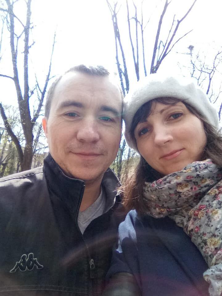Олег Якуц із дружиною