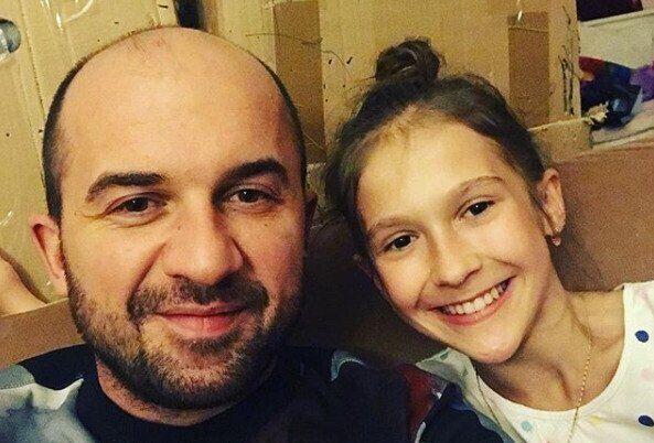 Печугин с дочерью