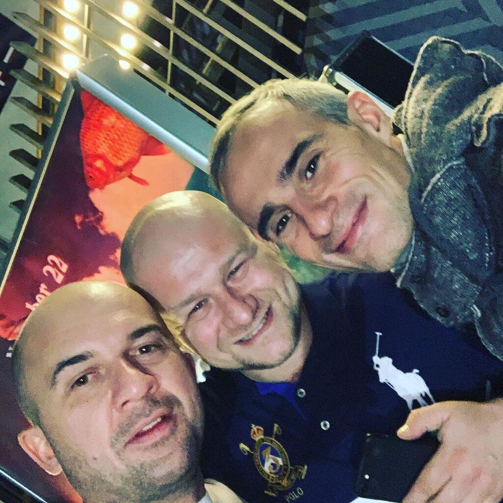 Павел Пичугин с друзьями