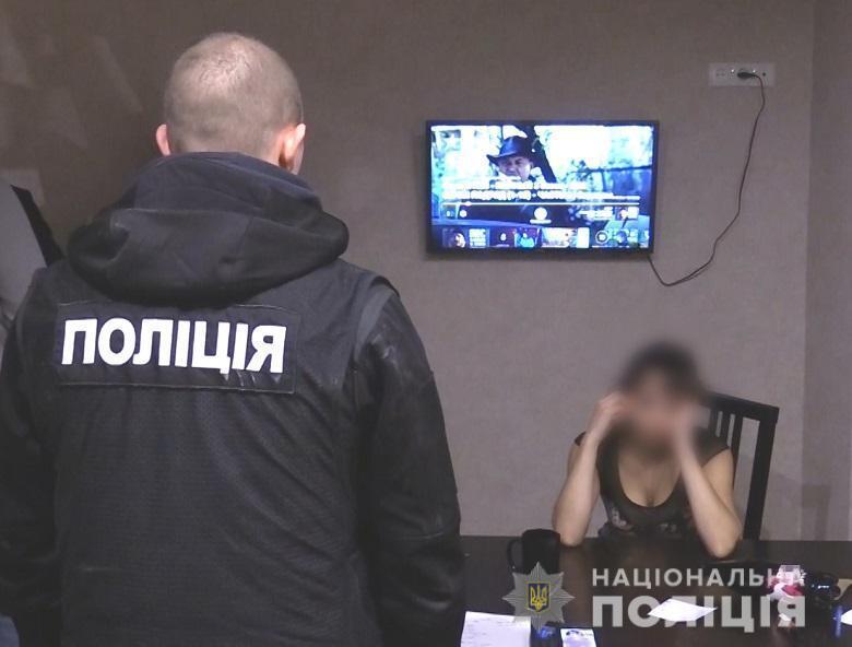 В Шевченковском районе Киева женщина организовывала деятельность борделя в псевдосалоне эротического массажа