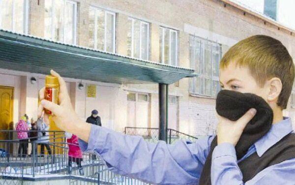 В Одессе школьник распылил в классе газовый баллончик