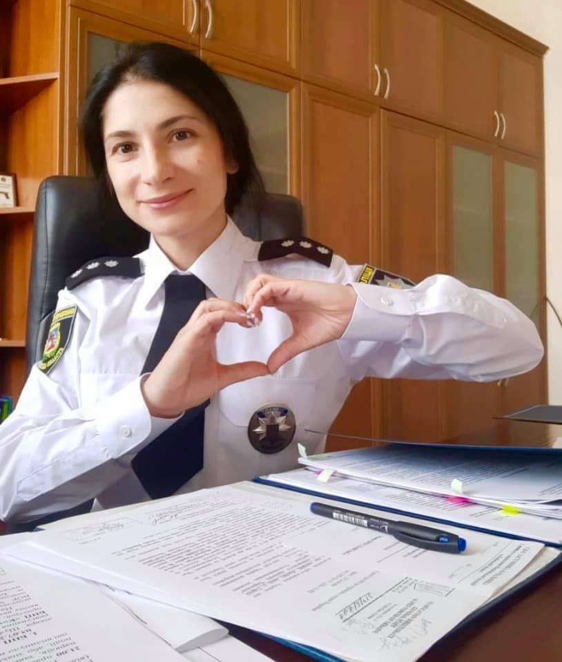 Майя Бреславская в полиции работает с 2015 года