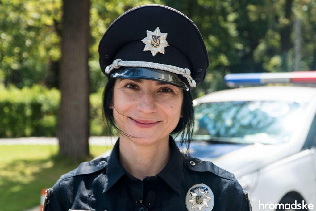 Мая Бреславская была первой женщиной-командиром в Патрульной полиции