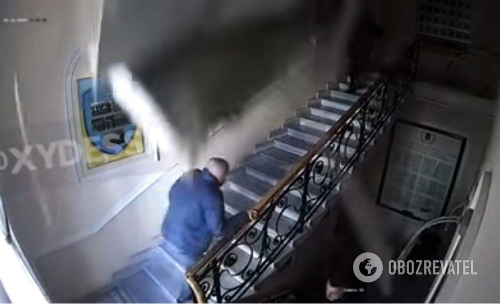 В Одессе в здании полиции обрушился потолок