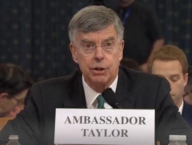 Тейлор у Конгресі став на захист України