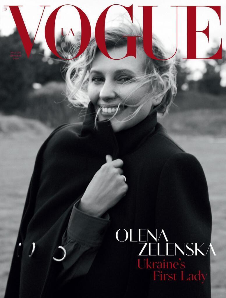 Як знімали Зеленську для Vogue: відео