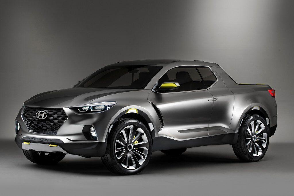 Концепт пикапа Hyundai Santa Cruz показали в 2015 году на автошоу в Детройте