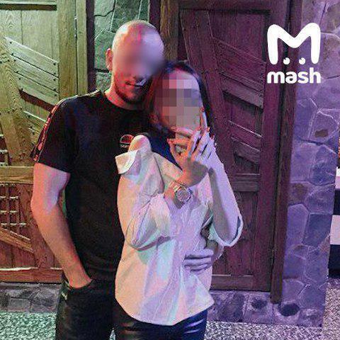Алексей Голубничий со своей девушкой
