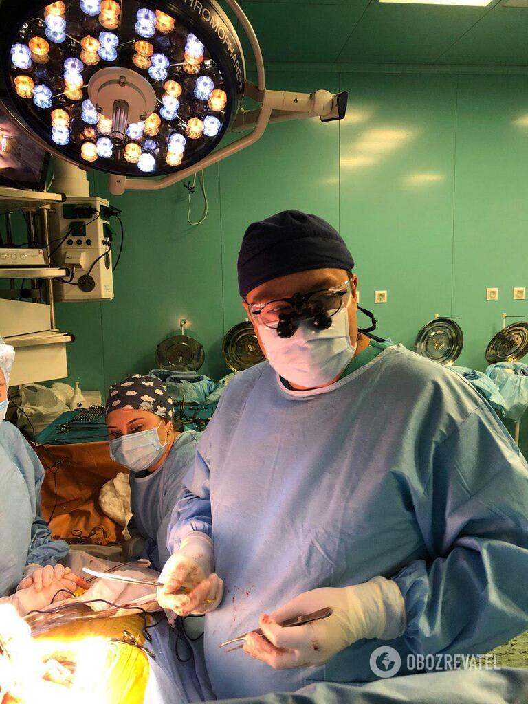 Головний лікар Інституту серцево-судинної хірургії ім. Амосова, кардіохірург, кандидат медичних наук Сергій Сіромаха