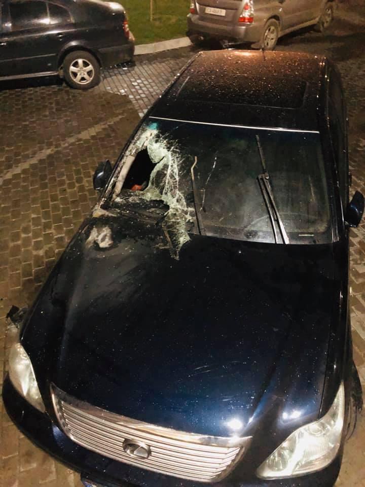 Чиновнику черкасской мэрии раскурочили незадекларированный автомобиль