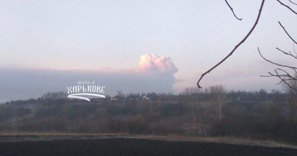 Взрывы на складах