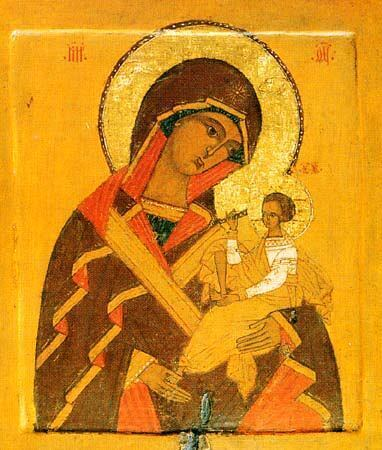 Икона Божьей Матери Одигитрия (Шуйская)