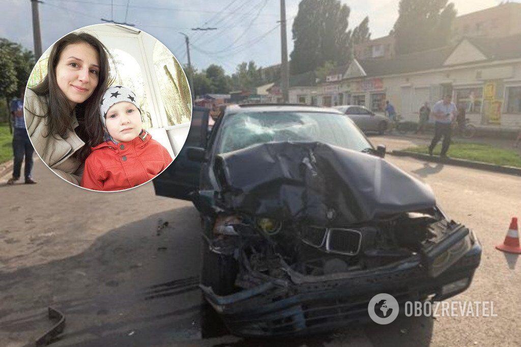 В ДТП погибла семья полицейского
