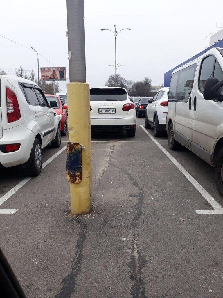 Парковка в Днепре