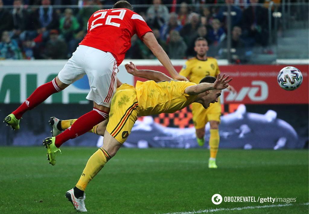 Сборную России разгромили в домашнем матче отбора Евро