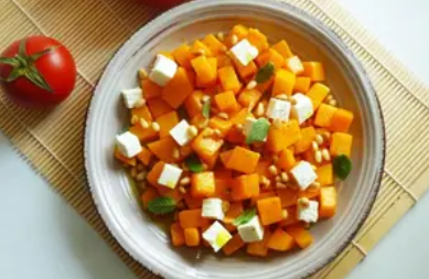 Рецепт изысканного и нежного салата из тыквы
