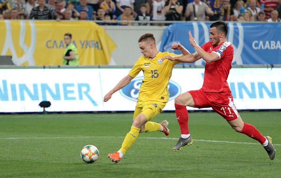 Сербія не змогла скласти Україні конкуренцію в боротьбі за друге місце