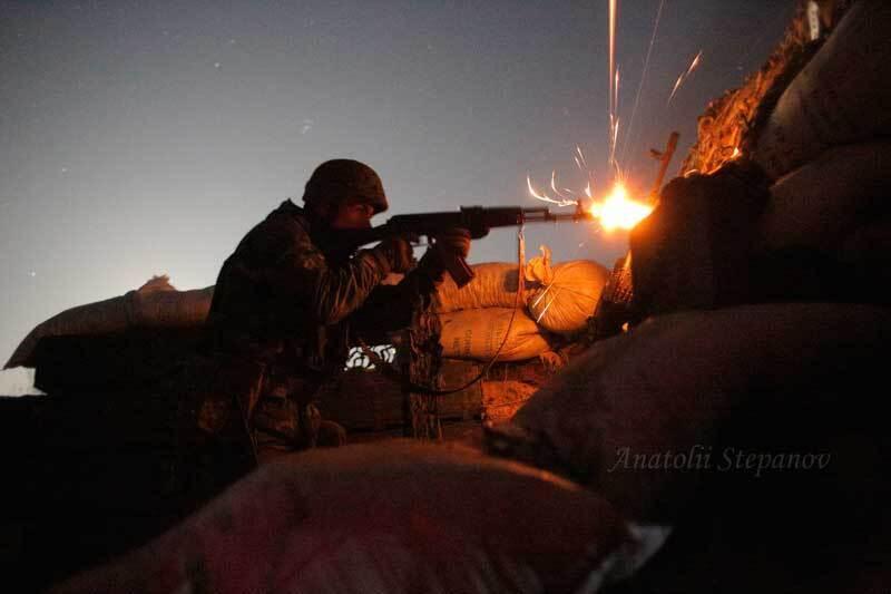Українські військові не дають спуску терористам