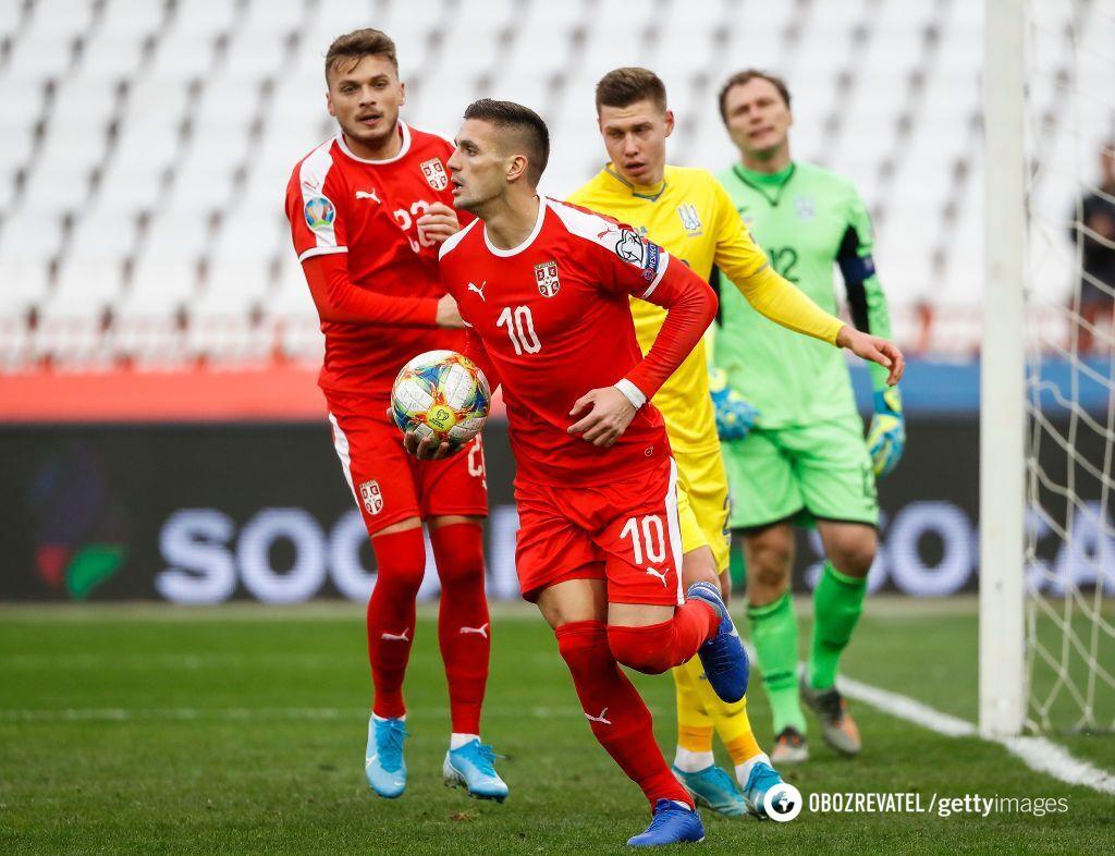 Сербия - Украина