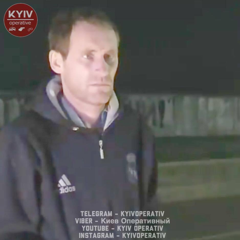В Шевченковском районе Киеве 17 ноября пьяный водитель такси Uber совершил сразу несколько ДТП