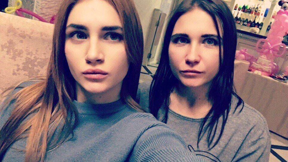 Аміна з мамою