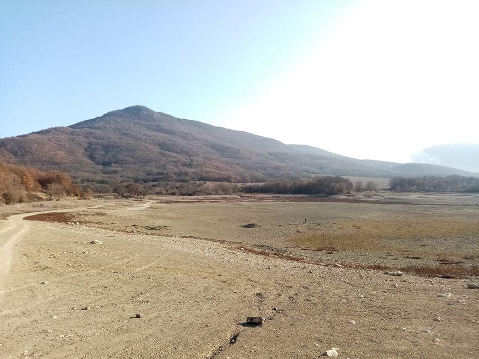 Озеро в селе Кизиловое