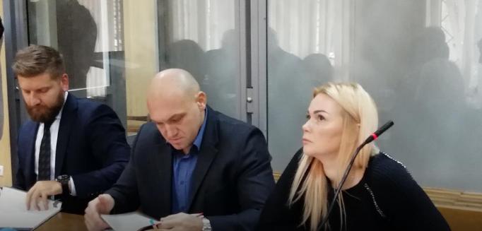 Наталя Саєнко на одному з судових засідань