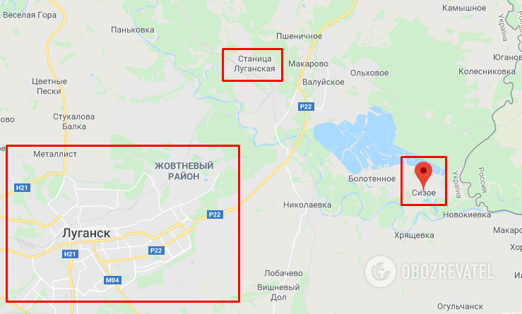 На ЗСУ напали недалеко від Луганська і Станиці Луганської