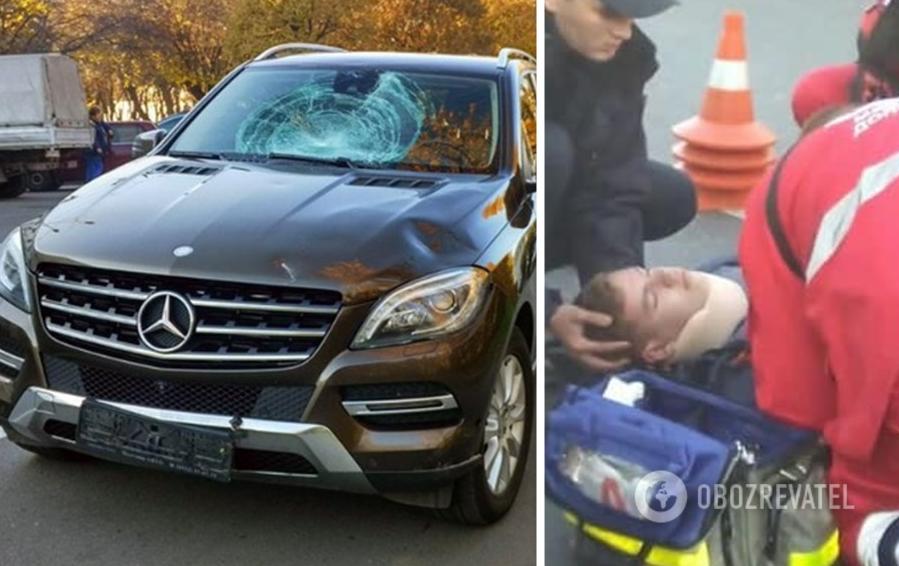 Mercedes збив 15-річного Артема Левченко на пішохідному переході. Школяр помер через два місяці в лікарні.