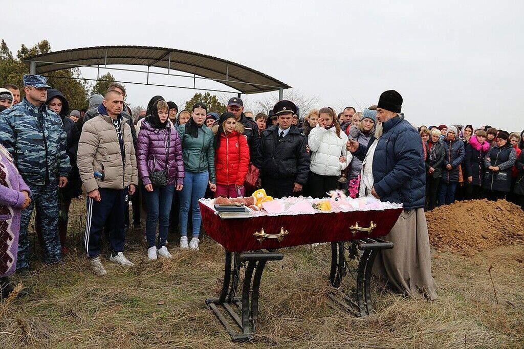 Похороны Даши Пилипенко в Крыму