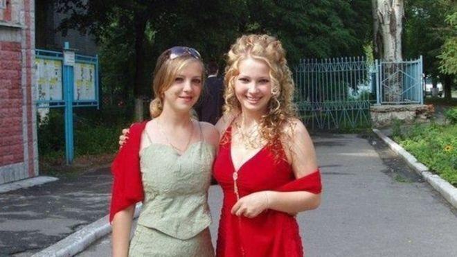 Ирина Ноздровская (слева) с сестрой Светланой Сапатинской